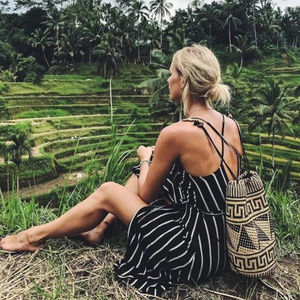 Handmade Borneo Basket Backpack
